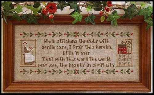 A Stitcher's Prayer Cross Stitch Chart