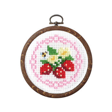 Olympus Embroidery Cross Stitch Kit with Hoop