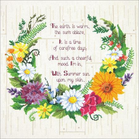 Summer Sentiments Cross Stitch Kit