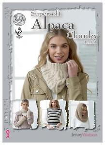 King Cole Supersoft Alpaca Chunky (book1) Pattern Book