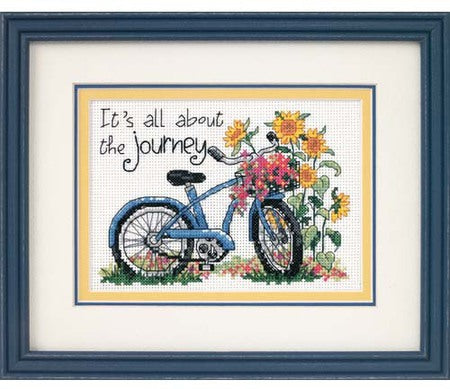 The Journey Cross Stitch Kit by Dimension
