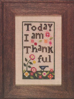 Thankful Cross Stitch Chart