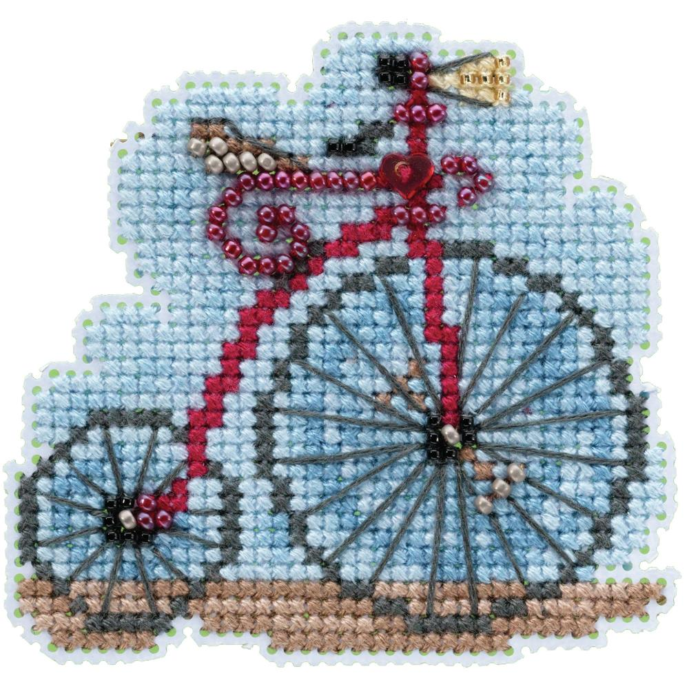 Mill Hill, Vintage Bicycle Beads and Cross Stitch Kit