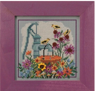 Mill Hill~Autumn series; Water Pump Beads and Cross Stitch Kit