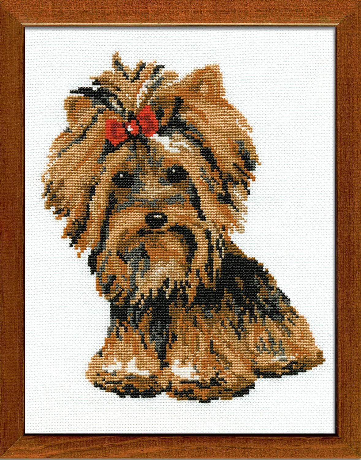 Riolis Yorkshire Terrier Cross Stitch Kit