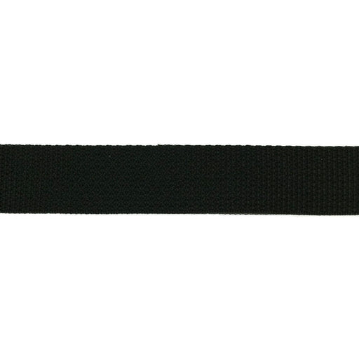 "Light Weight Polypropylene Webbing (1/2"") 840P .5 BK"
