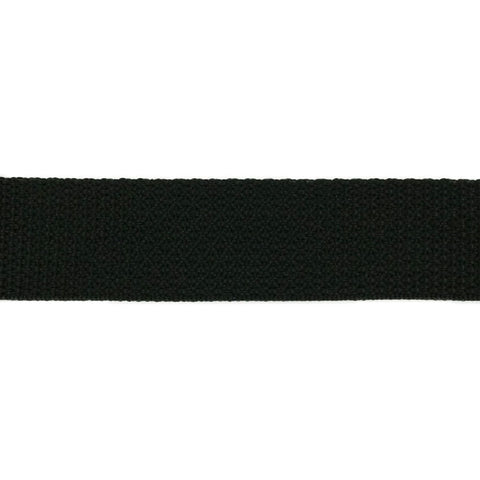 "Light Weight Polypropylene Webbing (3/4"") 840P .75 BK"