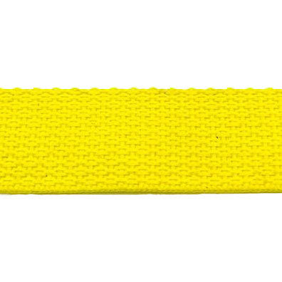 "Light Weight Polypropylene Webbing (1"") 840P 1 ROYAL & YELLOW ONLY"