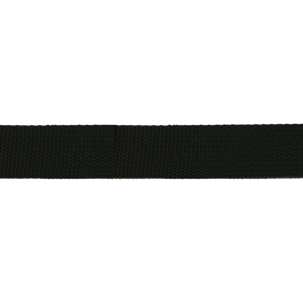 "Heavy Weight Polypropylene Webbing (3/4"") 850P .75 BK"