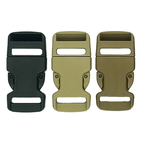 "HD MOLLE Mojave® Buckle Male Acetal (1"") 8781 DESERT TAN & COYOTE BROWN ONLY"