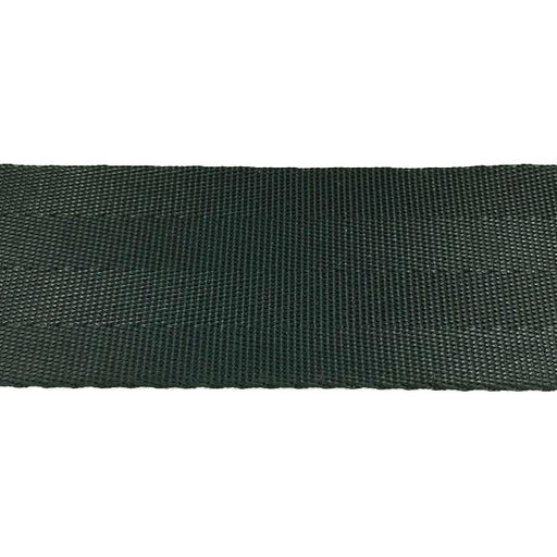 "4 Panel Black Seat Belt Webbing Nylon (1"") 913N 1 BK"