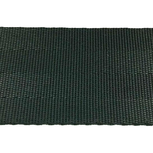"4 Panel Black Seat Belt Webbing Nylon (2"") 913N 2 BK"