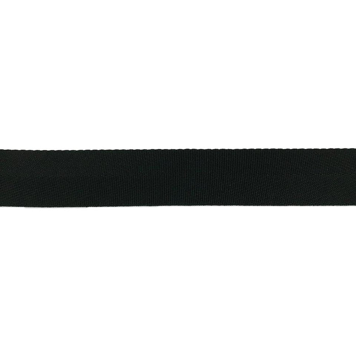 "Herringbone Seam Tape Nylon (1/2"") 917N .5 BK"