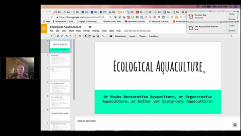 Ecological Aquaculture - A New Paradigm #8