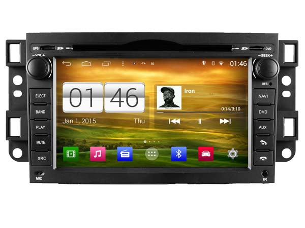 Holden Captiva Android Head Unit Replacement GC, CX (2006-11), LX(2006-08),  SX(2006-2010)