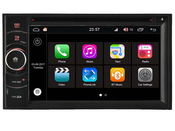 2 Din Universal Android 7 1 Unit with DVD