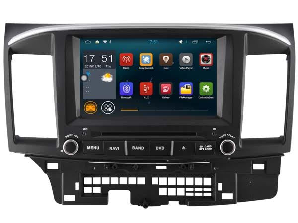 Mitsubishi Lancer(2006-2015) Android Head Unit-WITH ROCKFORD FOSGATE