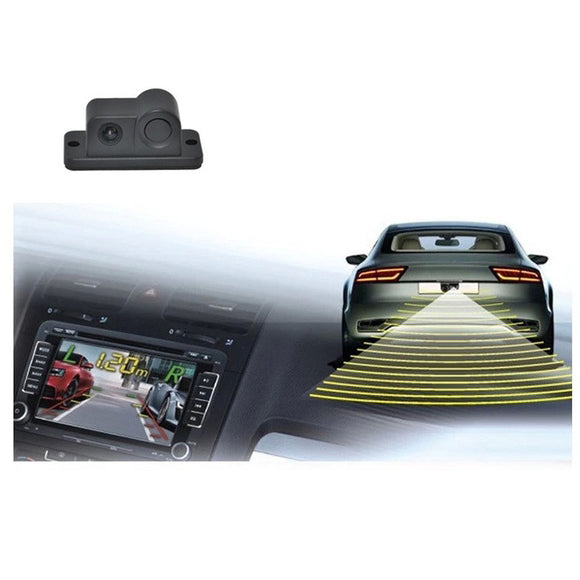 1. Rear View Camera with Sensors