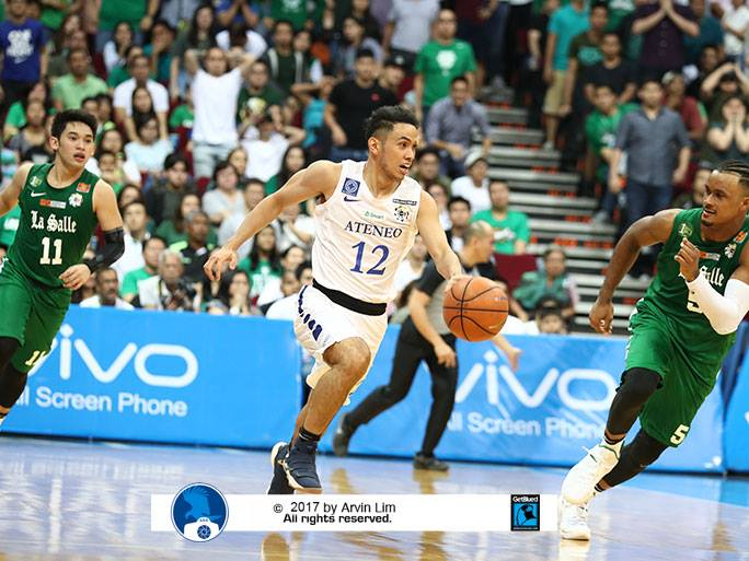 Ateneo Draws First Blood vs La Salle