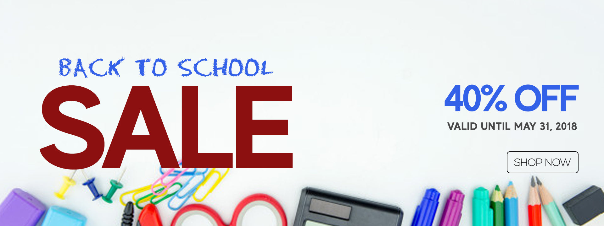 Back-to-School Sale