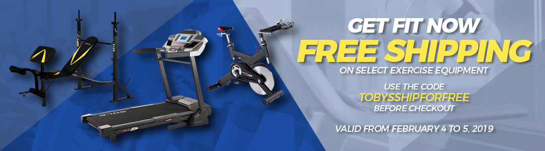 FREE Shipping on select Exercise Equipment!