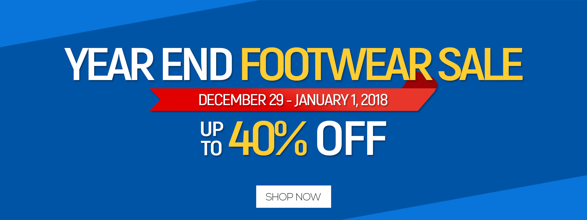 Year-End Footwear Sale