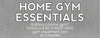 How to Build Your Home Gym