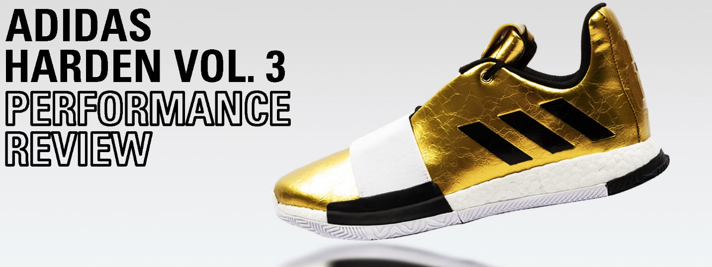 adidas Harden Vol. 3 Performance Review