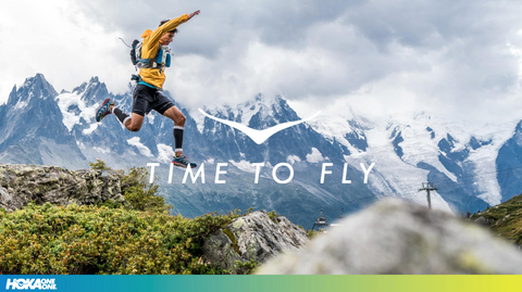 Time to fly: Hoka One One