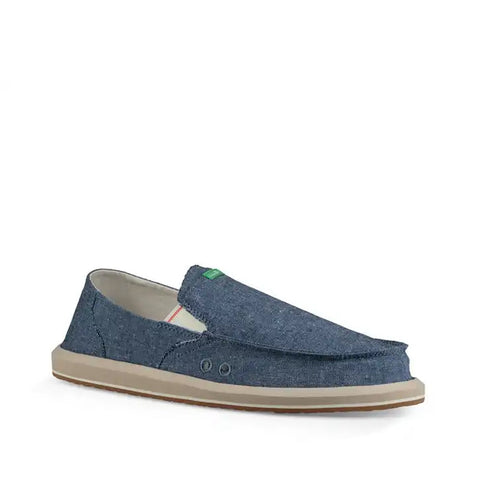 Sanuk Men's Pick Pocket Chambray