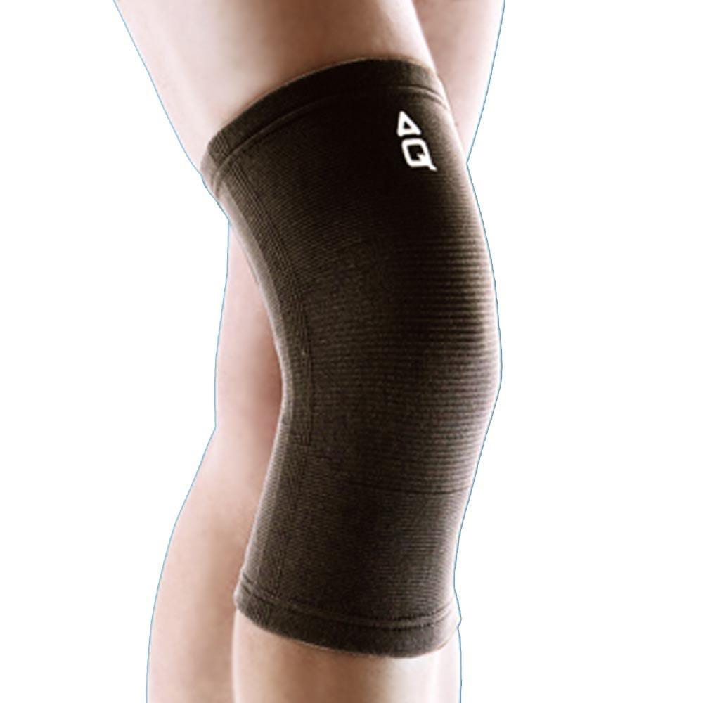 e2d10799b5 AQ Elastic Knee Support 1151 Black | Toby's Sports