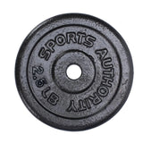 Sports Authority Barbell Plate 2.5LBS
