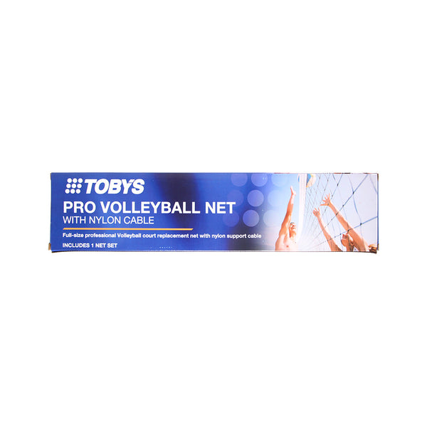 Buy the Toby's Pro Volleyball Net at Toby's Sports!