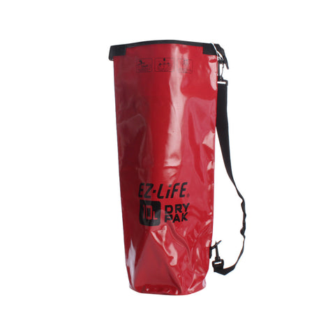 Buy the EZ life Dry Bag Red- 10L at Toby's Sports!