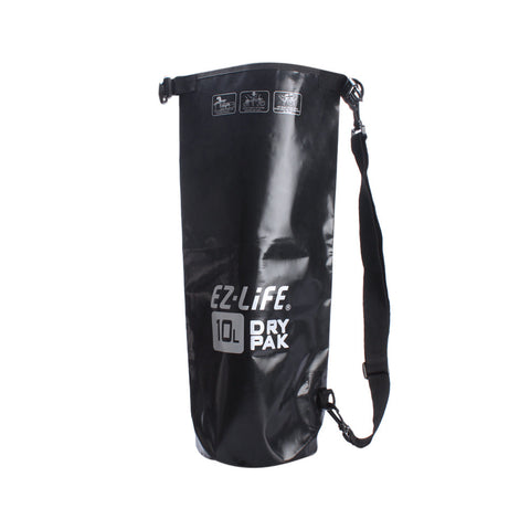 EZ life Dry Bag Black- 10L | Toby's Sports