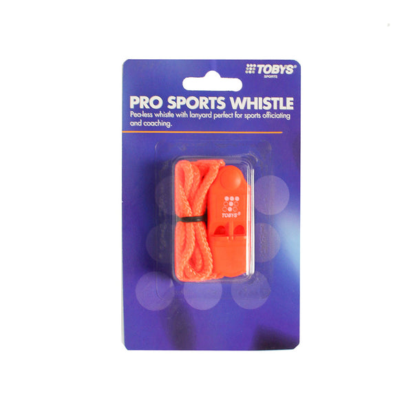 Buy the Toby's PRO Sports Whistle at Toby's Sports!