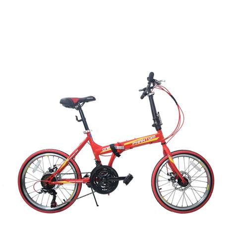 Phantom One Folding Bike 20''-7 Speed