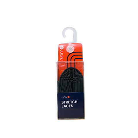 Runnr Stretch Laces Dark Gray OS