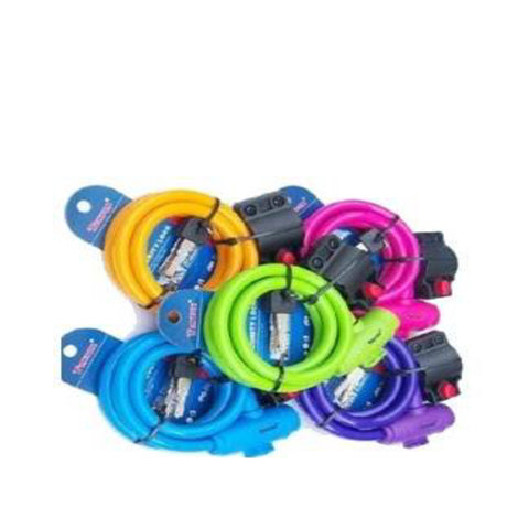 Super Bicycle Lock 1.2M Colored