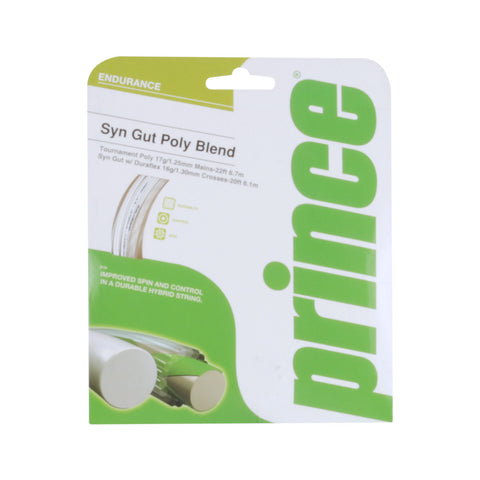 Prince TS Synthetic Gut Poly Blend Tennis String