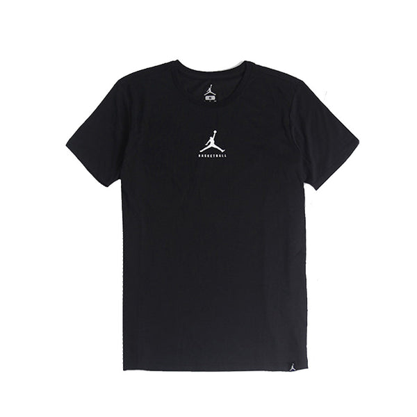 Buy the Nike Jordan Dry 23/7 Jumpman Basketball Tee-840395-010 at Toby's Sports!