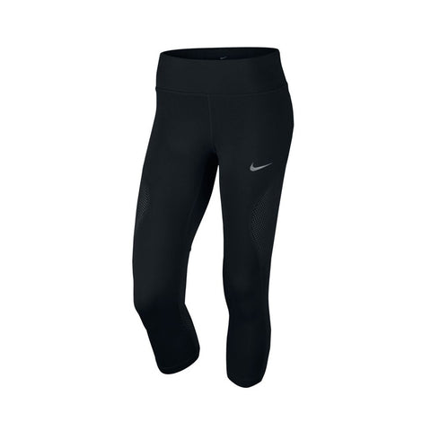 Nike Women's Running 3/4 Pant Power Crop Racer Cool