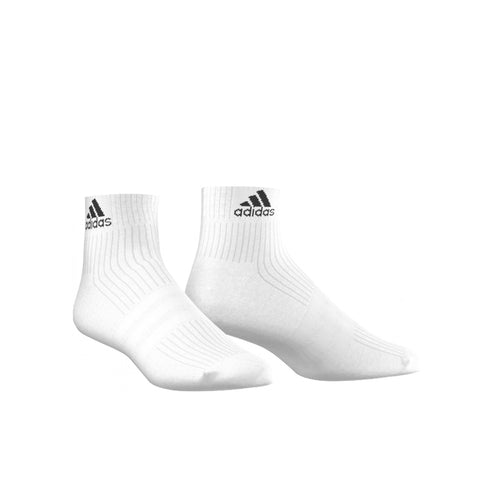 adidas 3 Stripe Half Cushioned Performance Ankle Socks