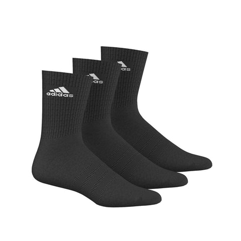 adidas 3 Stripe Half Cushioned Performance Crew Socks