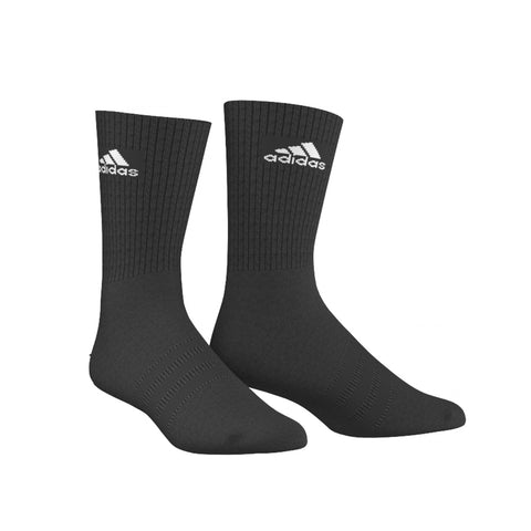 adidas 3-Stripes Performance Ankle Half Cushioned Socks-  1 Pair