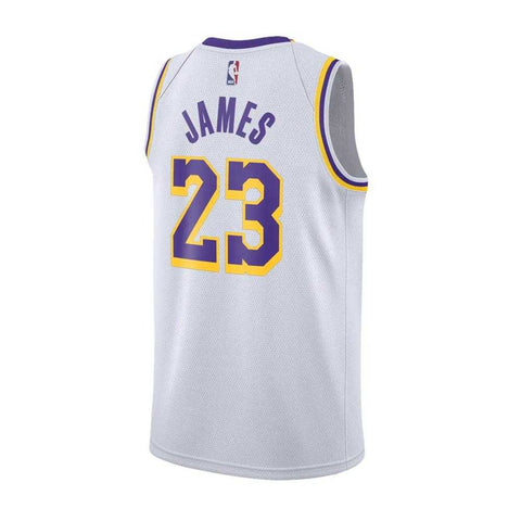 Nike Los Angeles Lakers Swingman Home Jersey- Lebron James