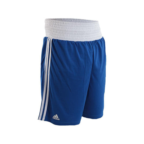 adidas Combat Boxing Shorts-Blue