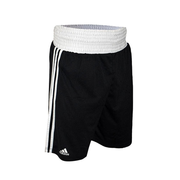 adidas Combat Boxing Shorts-Black