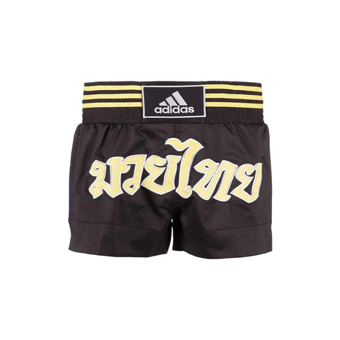 adidas Combat Thai Boxing Shorts-Black/Gold