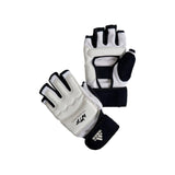 adidas Combat WTF Approved Taekwondo Gloves W/O Thumb-White/Black
